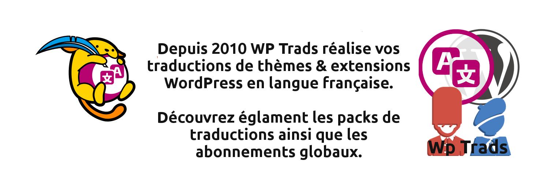 ac4c941ac7c9 Traductions WordPress en français de Thèmes et Extensions