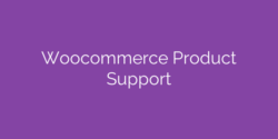 WooCommerce Product Support