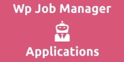 Wp Job Manager – Applications