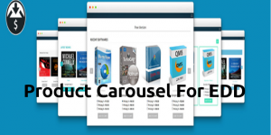 Easy Digital Downloads Product Carousel Slider