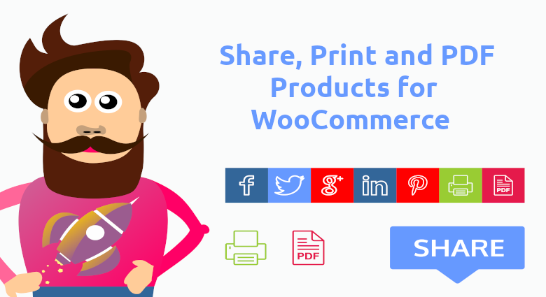Share Print Pdf For Woocommerce