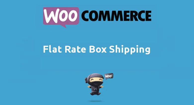 Woocommerce Flat Rate Box Shipping